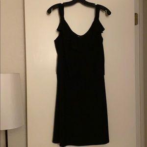 Black and White Strap Dress